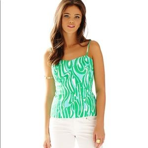 Lilly Pulitzer McCallum Top Finders Keepers Sz 4
